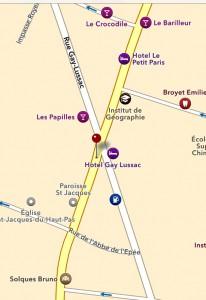 La Bonbanniere karta nära