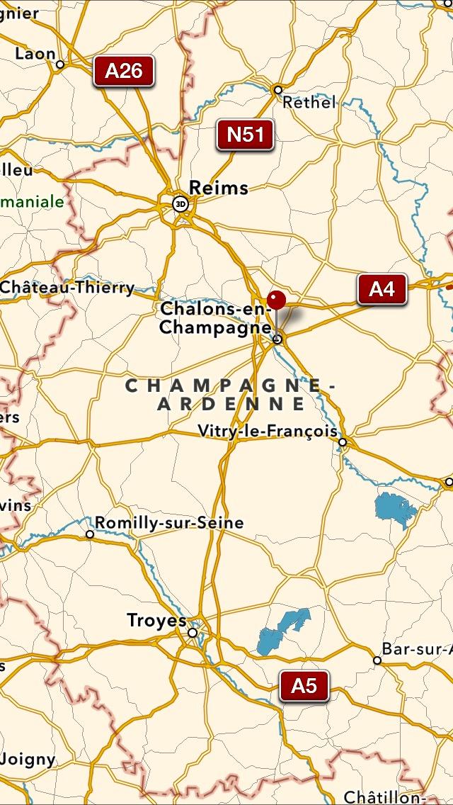karta frankrike champagne Chalons en Champagne | Veckans Franska karta frankrike champagne
