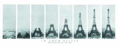 Eiffeltornet byggprocess